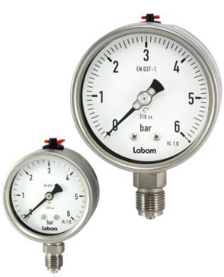 Đồng hồ áp suất Type  BA5100 Labom - Đại lý Labom Việt Nam