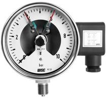 Đồng hồ áp có tiếp điểm điện P500 - Công tắc áp suất P500 - Nhà phân phối Wise Control tại việt nam - Đại lý wise tại việt nam