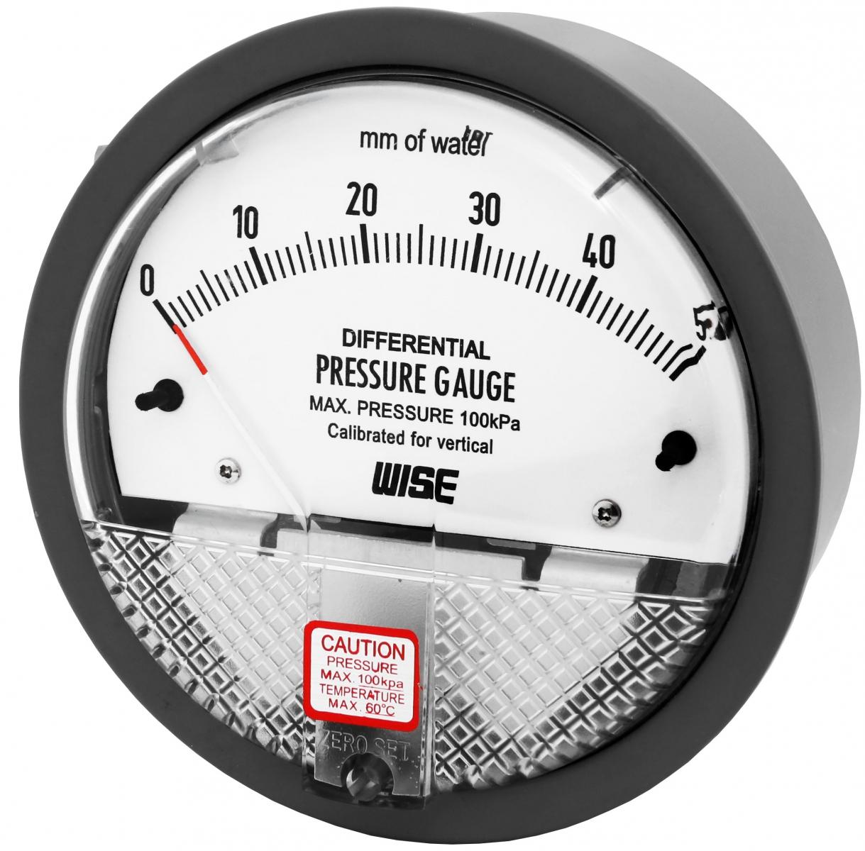 Đồng hồ đo chênh áp Wise P880 - Thiết bị đo chênh áp P880 - Wise Control Việt Nam