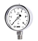 Đồng hồ áp suất Wise P252 - Đồng hồ áp suất khí Wise Hàn Quốc