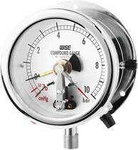 Đồng hồ áp có tiếp điểm điện P542,P543 - Công tắc áp suất P542,P543 - Đại lý Wise Việt nam
