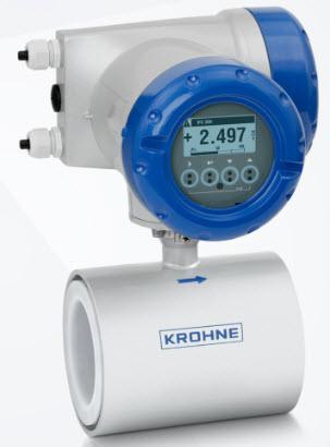 Đồng hồ đo lưu lượng chất lỏng dạng điện từ Krohne