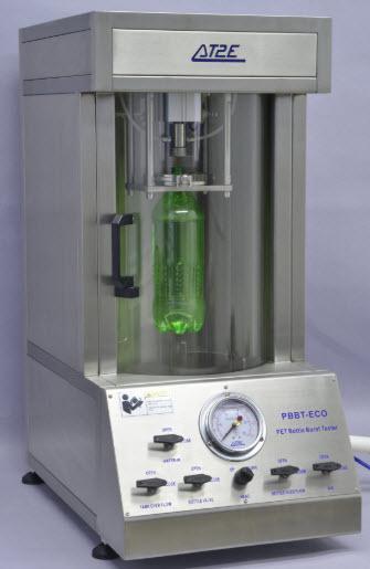Thiết bị kiểm tra áp suất nổ chai PET PBBT-ECO hãng AT2E