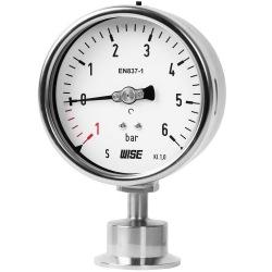 Đồng hồ áp màng kết nối kiểu Clamp P752 - đồng hồ Tri-Clamp P752 - Đại lý wise việt nam