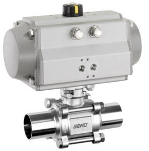 Van bi Gemu 741 - Ball valves Gemu - Đại lý phân phối van bi Gemu tại Việt Nam