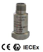 Cảm biến đo độ rung động cơ CE620 Meggitt Vibro-meter   Vibration Sensor Meggitt Vibro-Meter