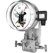 Đồng hồ đo chênh áp có tiếp điểm điện Wise P690 - Thiết bị đo chênh áp có tiếp điểm điện P690