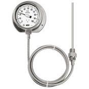 Đồng hồ đo nhiệt độ có dầu dạng ống dẫn Wise T239 - Nhiệt kế Wise Control