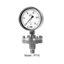 Đồng hồ áp màng wise P710 - Đồng hồ áp suất dạng màng P710 - Đại lý Wise tại việt nam