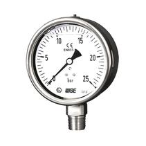 Đồng hồ đo áp suất có dầu Wise P258 - Thiết bị đo áp suất có dầu P258