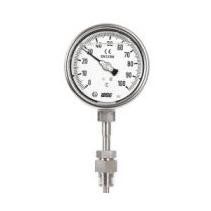 Đồng hồ đo nhiệt độ có dầu dạng chân đứng Wise T259 - Nhiệt kế Wise - Đại lý Wise Control