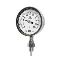 Đồng hồ đo nhiệt độ có dầu Wise T229 - Nhiệt kế công nghiệp Wise - Đại lý Wise Control